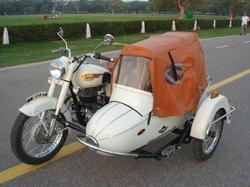 Royal Enfield With Side Car