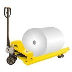 hydraulic wrap beam pallet truck