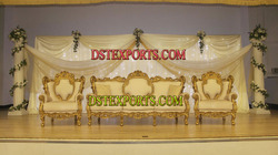 Latest Asian Wedding Sofa Set