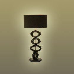 Hoop Black Table Lamp