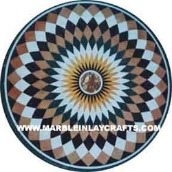 Marble Mosaic Coffee Table Top
