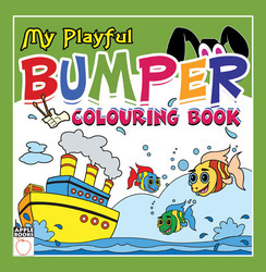 My Playful Bumper Coloring Book - Green