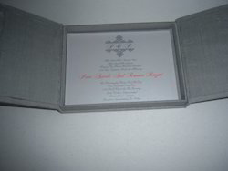 Boxed Wedding Invites