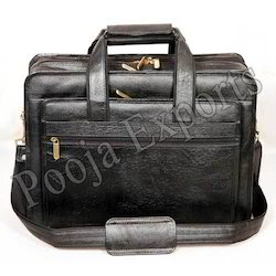 Leather Office Files Bags ( Product Code: YH61)