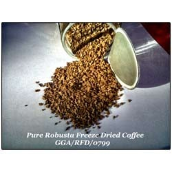 Pure Robusta Freeze Dried Instant Coffee