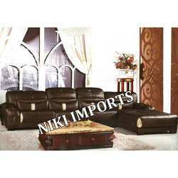 Leather Cornern Sofa Set - Rexine