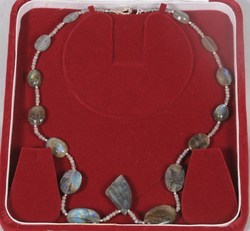 Rainbow Labradorite Necklace