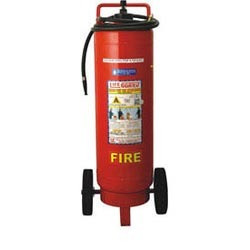 water type portable and trolley mounted fire extinguisher