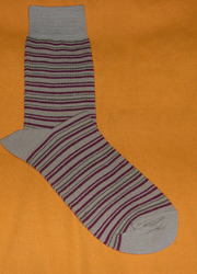 AOV /MN/ST/31 Men Stripe Socks