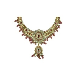 Kundan and Gemstone Necklace