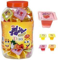 Double Color Fruit Jel