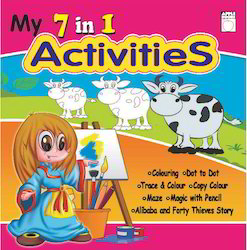 7  In 1 Activitic Book  Pink