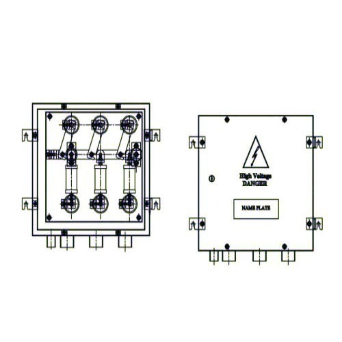 Coaxial Cross Bonding Link Box
