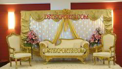 Asian Wedding Gold Furniture