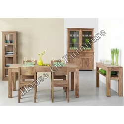 Wooden Dining Set - Wooden Furniture