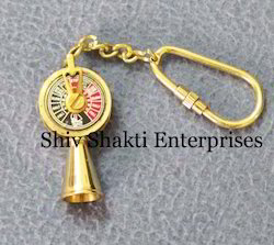 Nautical Brass Telegraph Key Chain