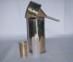Brass Rain Gauge Math Aid