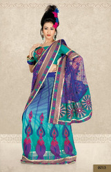 Voile Fancy Sarees