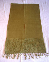 Cotton Chenille Scarf