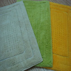 Table Tufted Bathmats
