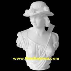 Carve Lady Bust