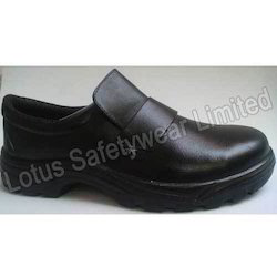 Officers Slip-On with Steel Toe