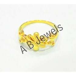 Ladies Gold Finger Rings