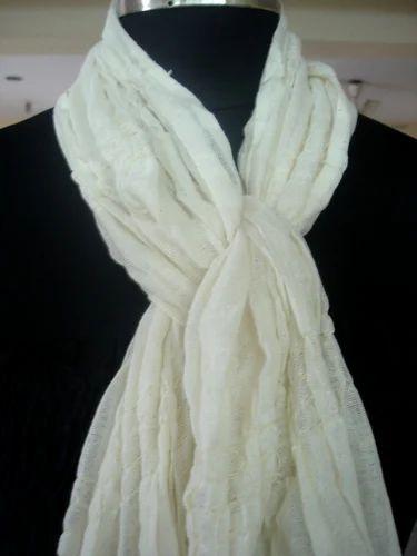 White Summer Scarves