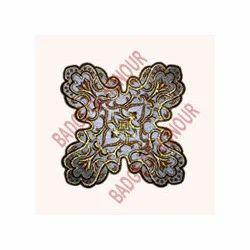 Silk Embroidered Motifs