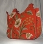 Grapes Exotic Red Tote