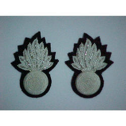 Custom Embroidery Collar Badges