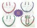 Handmade Quartz Beads Designer Necklace Set