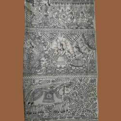 Beautiful Paintings On Sarees