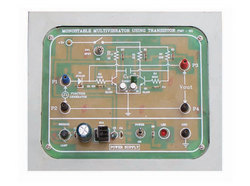 Monostable Multivibrator Using Trainer