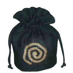 Jute Drawstring Bag Cylindrical Type