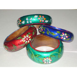 Fashion Jewelry Wooden Painted Bangle