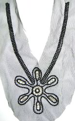 Decorative Sequins Necklines