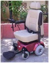 Deluxe Wheelchair Rear Wheel Drive Motorised