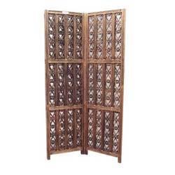 Wooden Folding Screen Room Divider