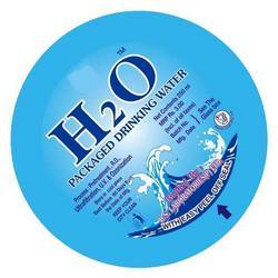H2O Packaged Drinking Water Seal