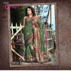 Mesmerizing Gota Lace Work Saree