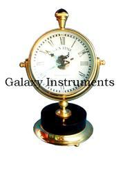 Brass Table Clock