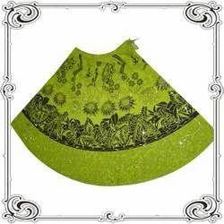Green Cotton Skirts