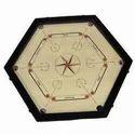 Hexagonal Carrom Boards