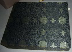 Fabric Covered Brocade Boxes
