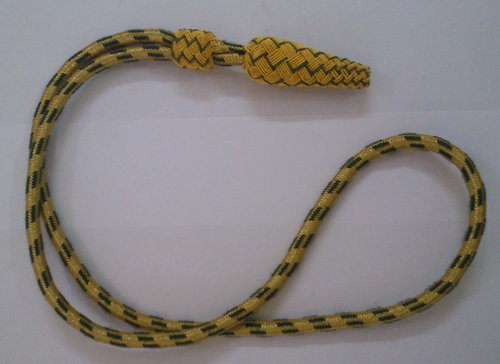 Lanyards Whistle & Pistol Cords Gold