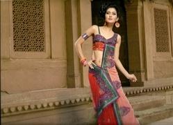 Indian Viscose Georgette Saree