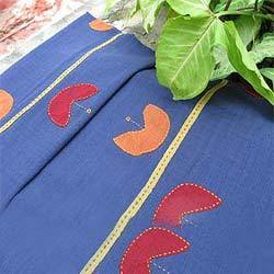 Applique Design Bed Sheet