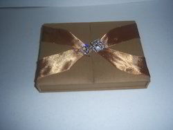 Fabric Covered Boxes For Wedding Cards