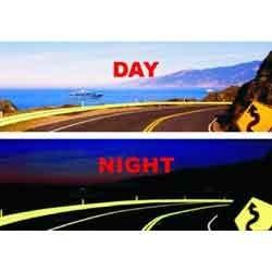 glow in dark paints for roads